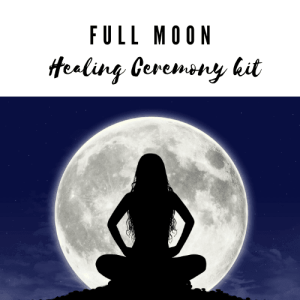full moon healing ceremony bag