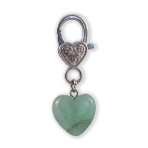 Green Aventurine Pendant for pets by Jenny Schiltz