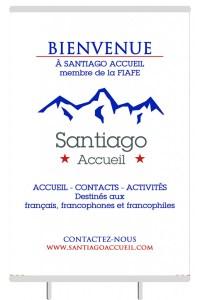 Kakemono Santiago Accueil