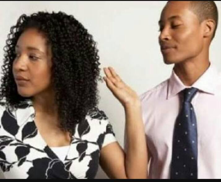 Resultado de imagen para angry black man and woman