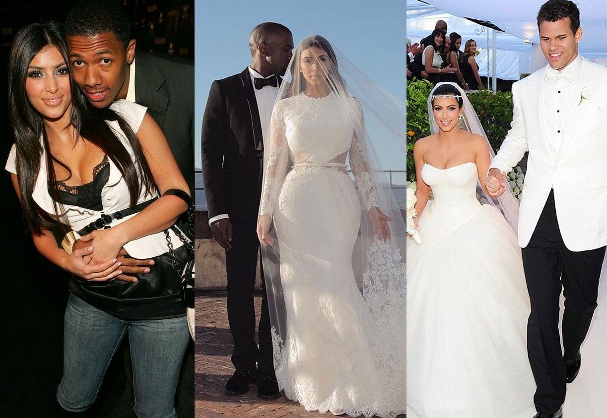 Kim Kardashian and spouses