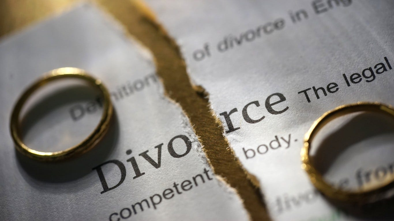 Divorce Signs