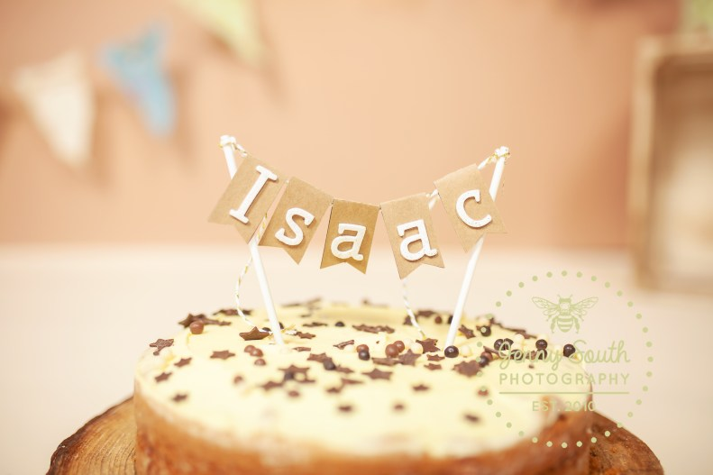 A beautiful hand made cake topper by Danielle at Faithful Designs
