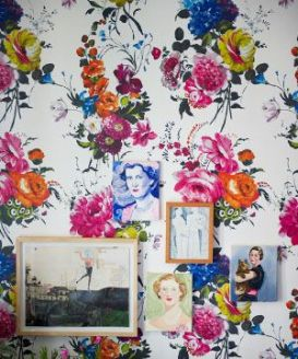 Jenny Michal Interiors | patterned Wallpaper
