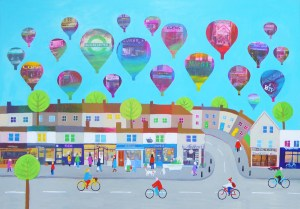 Gloucester Road Central is a collection of independent shops in bristol by jenny Urquhart