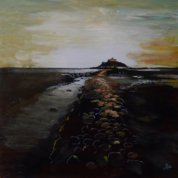 st michaels mount at dush by jenny urquhart