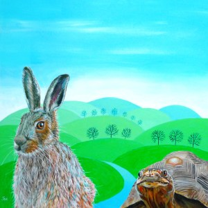the hare and the tortoise by jenny urquhart