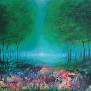 Forest of dreams deep woodland by jenny urquhart
