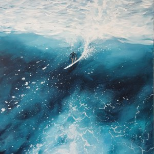 Riding the wave by Jenny Urquhart