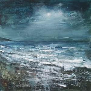 Cornish moonlight by Jenny Urquhart