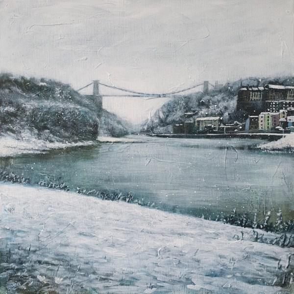 Winter bridge by Jenny Urquhart