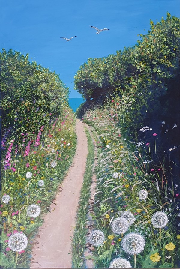 Path to the beach by Jenny Urquhart