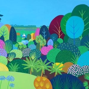Trebah Gardens by Jenny Urquhart
