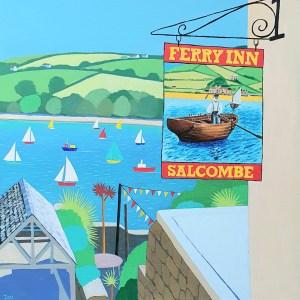 Ferry Inn in Salcombe by Jenny Urquhart
