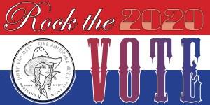 FREE Rock the Vote Bumper Stickers