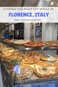 Everything you need to eat in Florence, Italy--from pizza to gelato!
