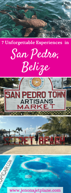 Looking for the best things to do in San Pedro, Belize? From swimming with sharks to visiting the Secret Beach, here's everything you need to do in Ambergris Caye's capital city. #ambergriscaye #sanpedrobelize #belizetravel #whattodoinsanpedrobelize #bucketlist #wanderlusttravel