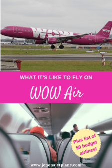 Have you ever wondered what it's like to fly with WOW air? I took one of their $99 flights to Iceland. Here's everything you need to know before you fly with them. Save to your travel tips board for future reference. #wowair #wowairlines #wowairlinestips #wowairlinescarryon#wowairpacking #wowairseats #wowairiceland #budgetairlines #budgettravel #airlinetickets #airlinetraveltips