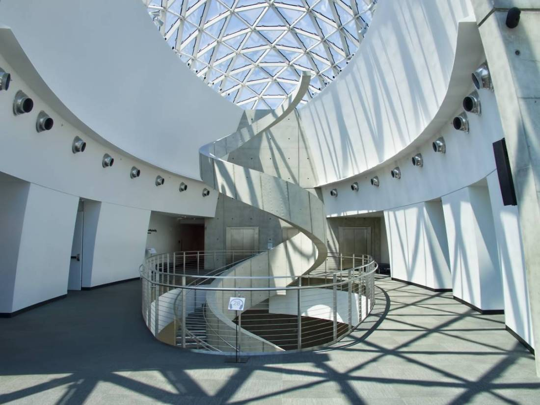 Interior of the Dali Museum