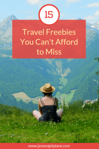 Looking for the best travel freebies available right now? From free walking tours to hotel stays, here are 15 travel freebies you can't afford to miss. Save to your travel board for inspiration! #travelonabudget #travelforfree #budgettraveltips