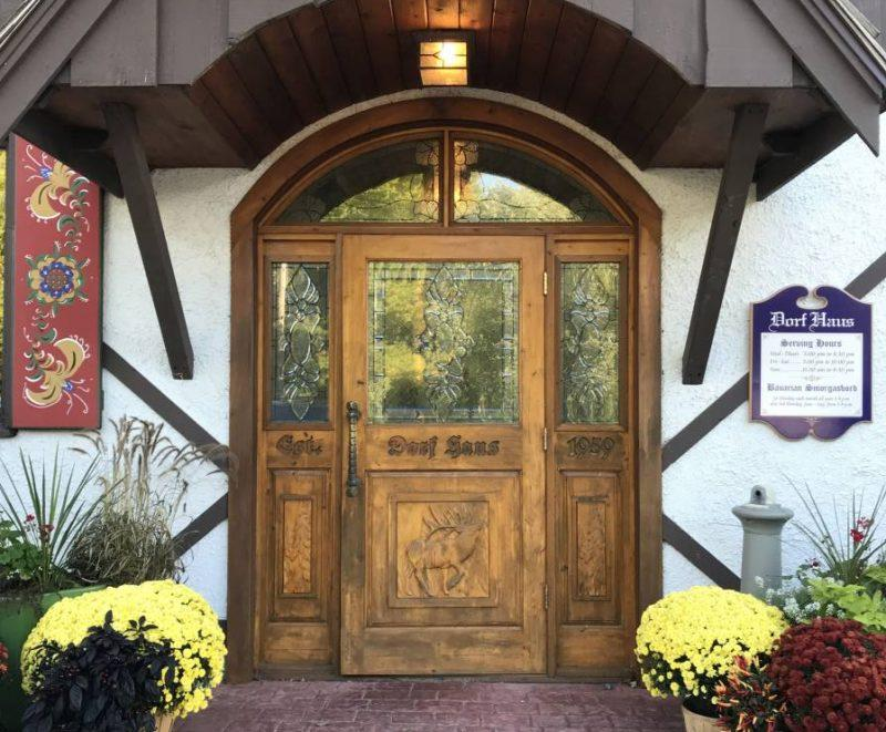 Entrance to Dorf Haus