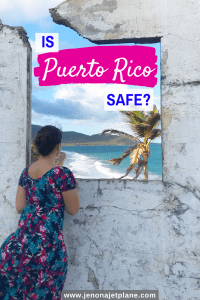 Wondering if it's safe to travel to Puerto Rico? I moved to Puerto Rico from New York and here are my top tips. #ispuertoricosafe #puertorico #puertoricotravel #visitpuertorico