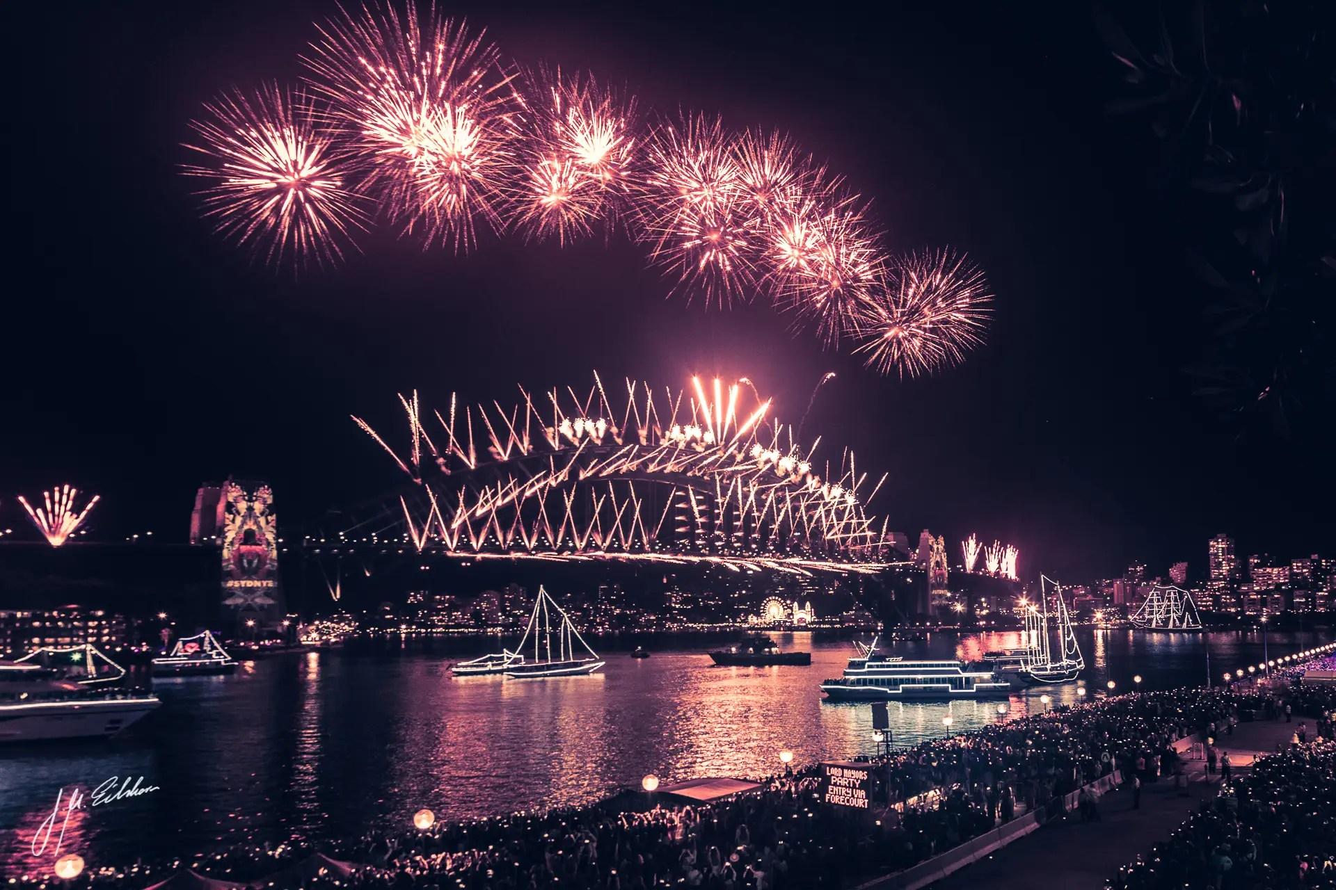 Hello Australia! New Years Eve in Sydney