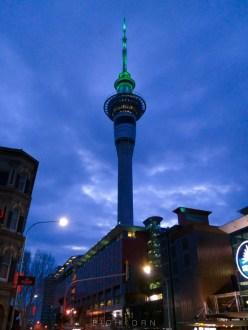 Auckland Sky Tower.