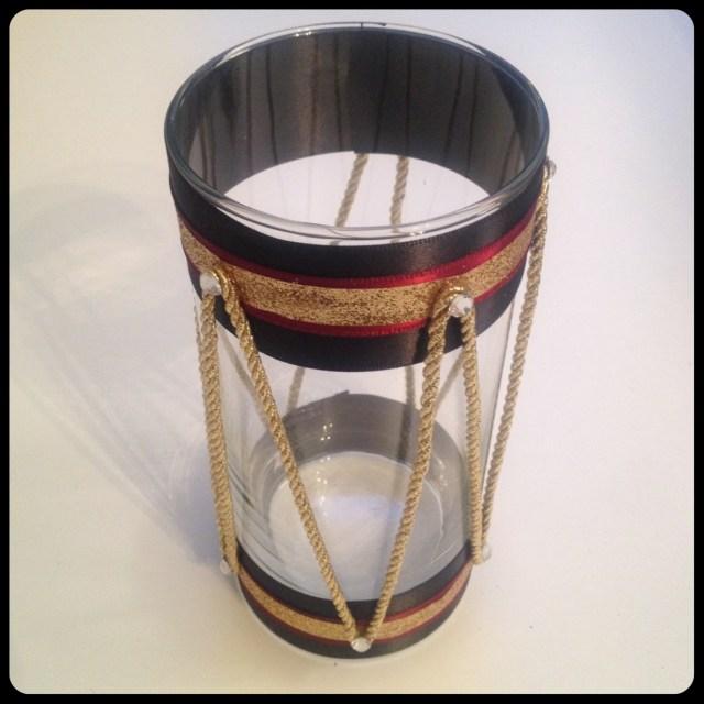 Drum Candle Holder Finished