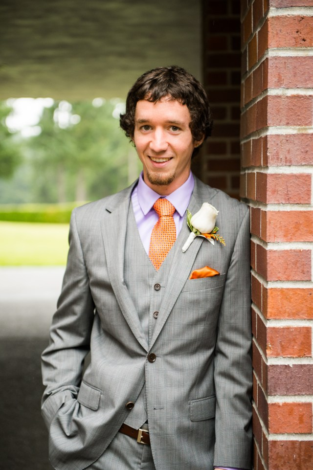Van-Wyhe-Photography- || Boutonniere by Jen's Blossoms