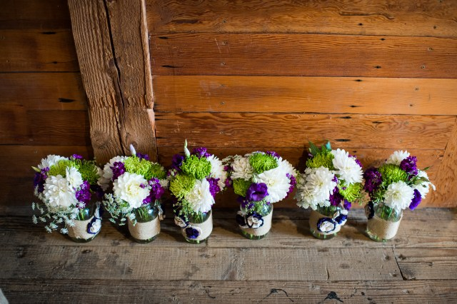 Van-Wyhe-Photography- || Centerpieces by Jen's Blossoms