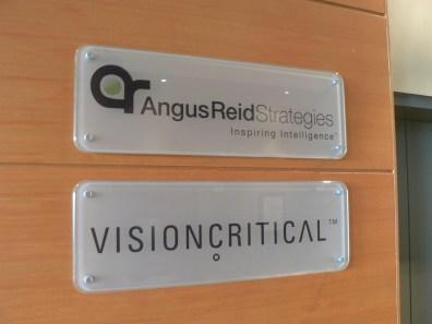 reception signs - Reverse Plexiglass