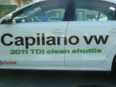 vehicle lettering - Cars