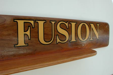 boat lettering - Wooden Plaques