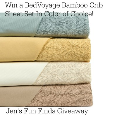BedVoyage Bamboo Crib Sheet Sets- An Eco-friendly Option for your Baby's Nursery