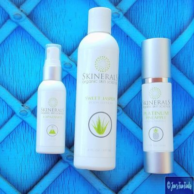 Get Back the Skin you Were Born With- Minerals No Chemicals with The Skinerals Organic Skin Science Products