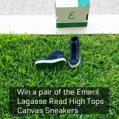 Win a Pair of the Emeril Lagasse Read Canvas Comfortable Shoes