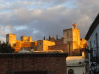 The Alhambra at sunset :)