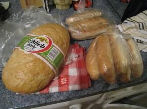 My cheap bread score!