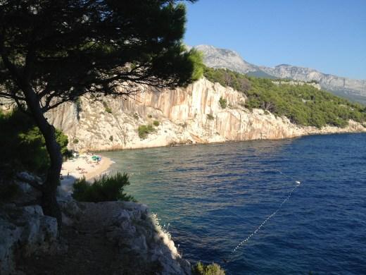 Makarska, Croatia - nude beach