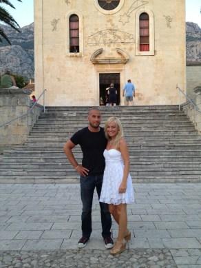 Makarska, Croatia - in old town