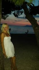 Sunset in Makarska
