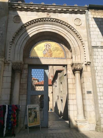 Entrance to Basilica