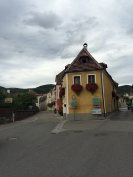 Riding through Weissenkirchen