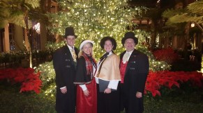 Performing at Longwood Gardens