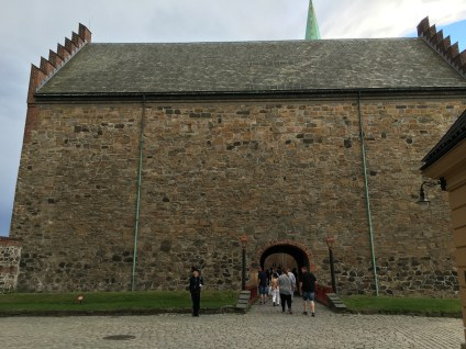 Inside the Akershus Fortress