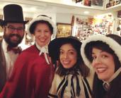 Our Boston Carolers!