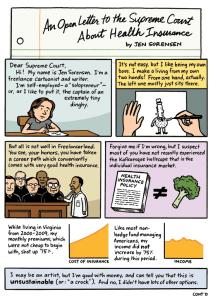 Health care comic
