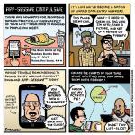 """This Week's Cartoon: """"App-sessive Compulsive"""""""
