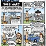 "This Week's Cartoon: ""Bulb Wars"""